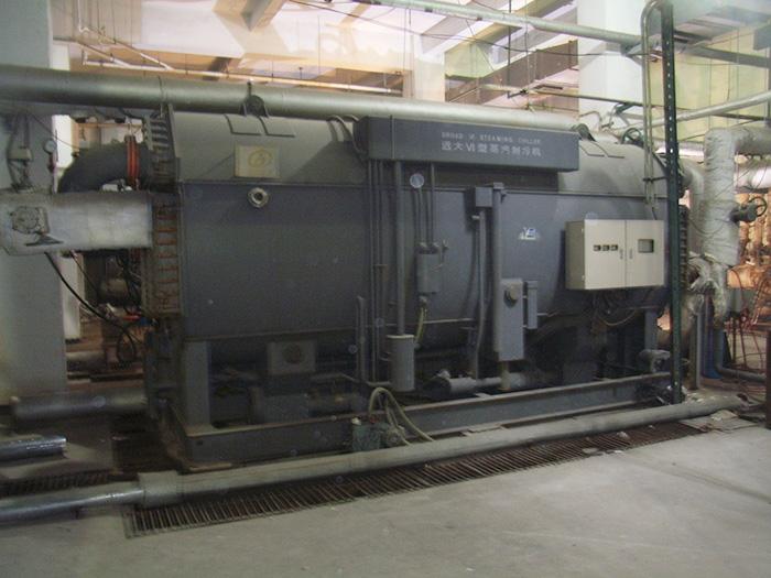 远大VI型蒸汽制冷机回收