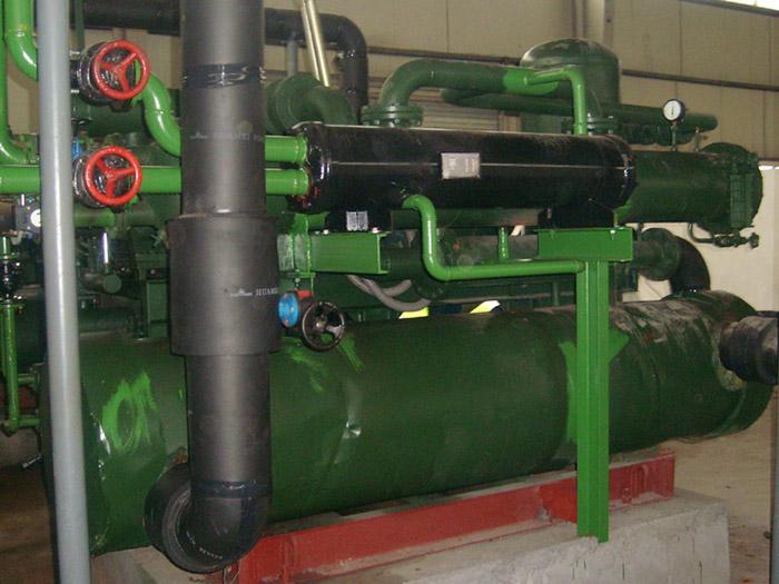 冷水机组回收后如何确定制冷系统是否正常?