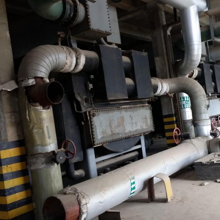 二手溴冷机组 回收二手溴化锂制冷机组 大型溴化锂制冷机组回收拆除